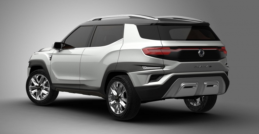 SsangYong XAVL Concept – off-road capable 7-seater Image #629081
