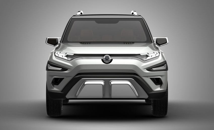 SsangYong XAVL Concept – off-road capable 7-seater Image #629082