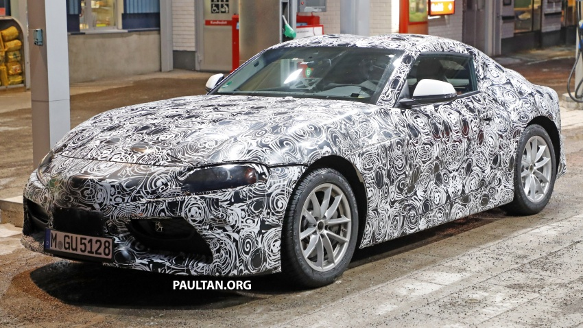 SPIED: Toyota Supra sighted again – closest look yet Image #631441