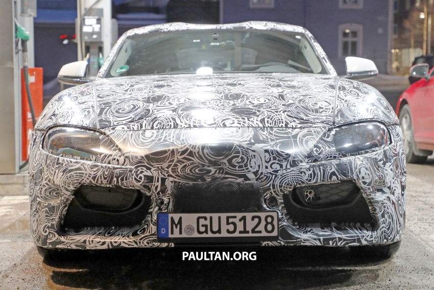 SPIED: Toyota Supra sighted again – closest look yet Image #631443