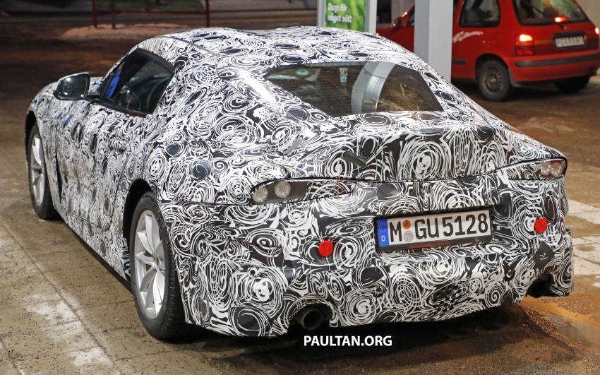 SPIED: Toyota Supra sighted again – closest look yet Image #631445