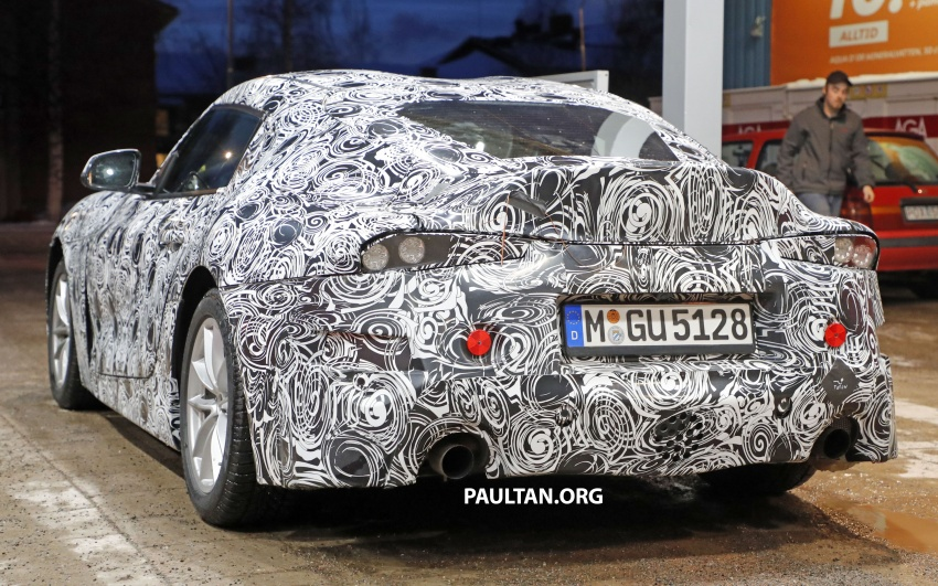 SPIED: Toyota Supra sighted again – closest look yet Image #631446