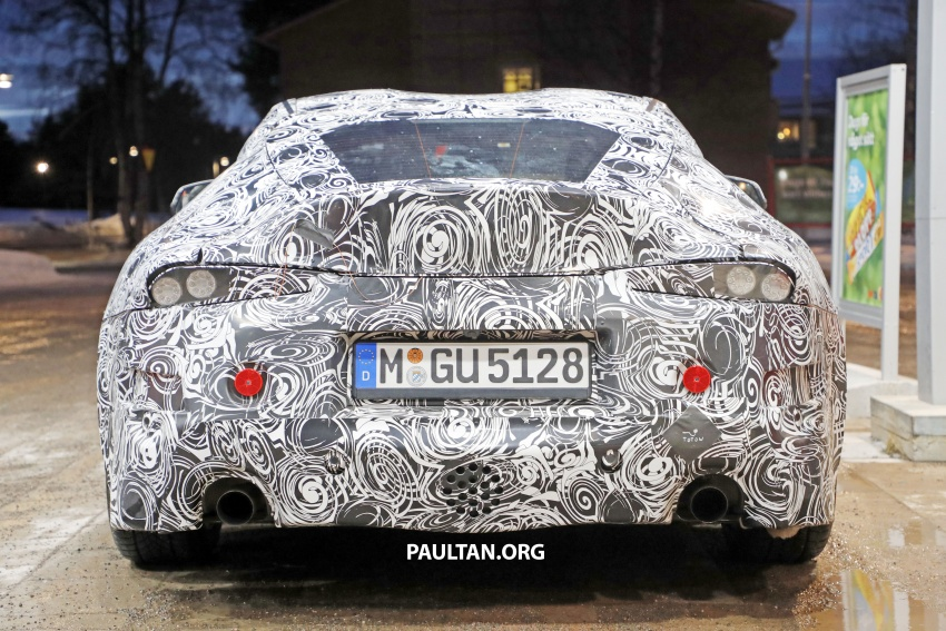 SPIED: Toyota Supra sighted again – closest look yet Image #631448