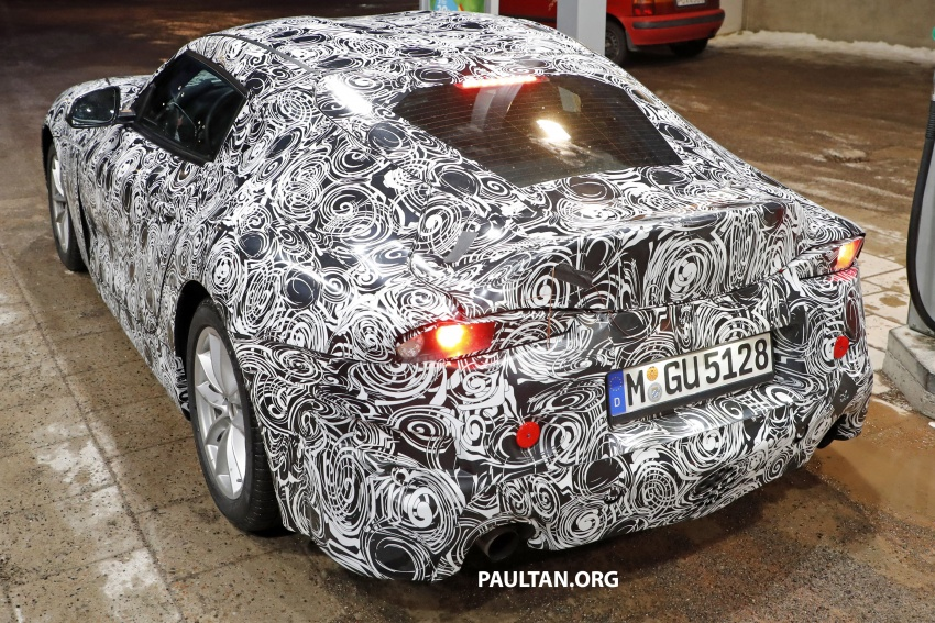 SPIED: Toyota Supra sighted again – closest look yet Image #631449