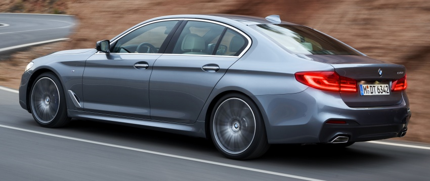G30 BMW 5 Series launched in Malaysia: 530i, RM399k Image #636228