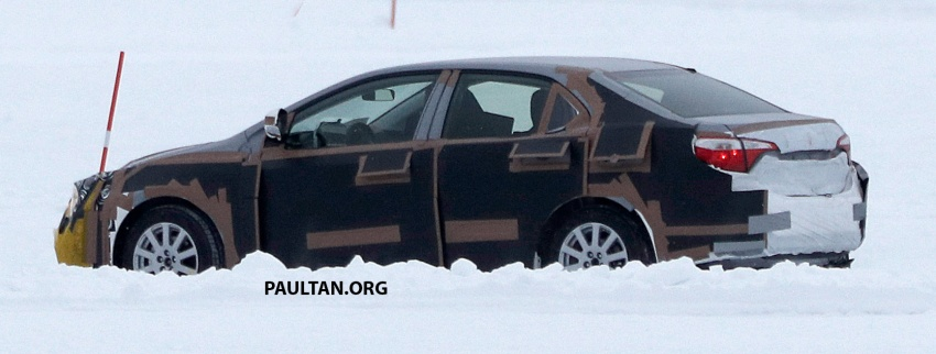 SPIED: 2018 Toyota Corolla to get new TNGA chassis Image #627665