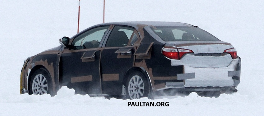 SPIED: 2018 Toyota Corolla to get new TNGA chassis Image #627667