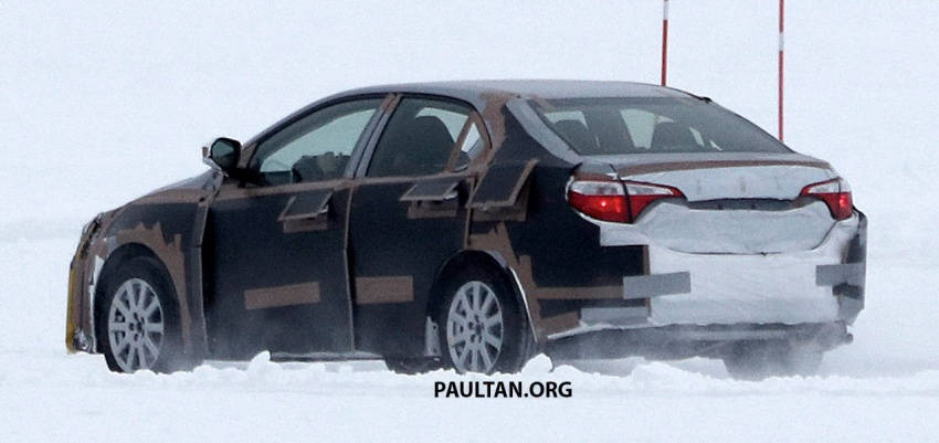 SPIED: 2018 Toyota Corolla to get new TNGA chassis Image #627668