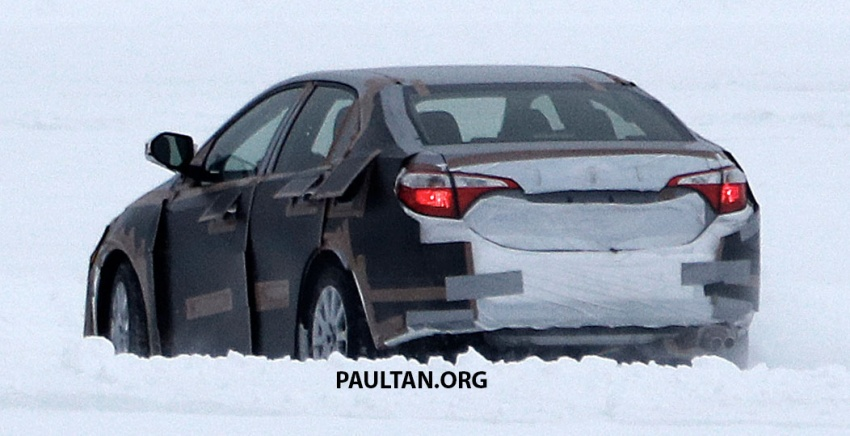 SPIED: 2018 Toyota Corolla to get new TNGA chassis Image #627669