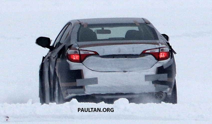 Spied 2018 Toyota Corolla To Get New Tnga Chassis Image