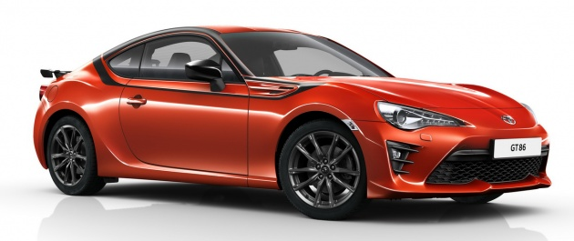 toyota gt86 39 tiger 39 edition introduced in germany. Black Bedroom Furniture Sets. Home Design Ideas