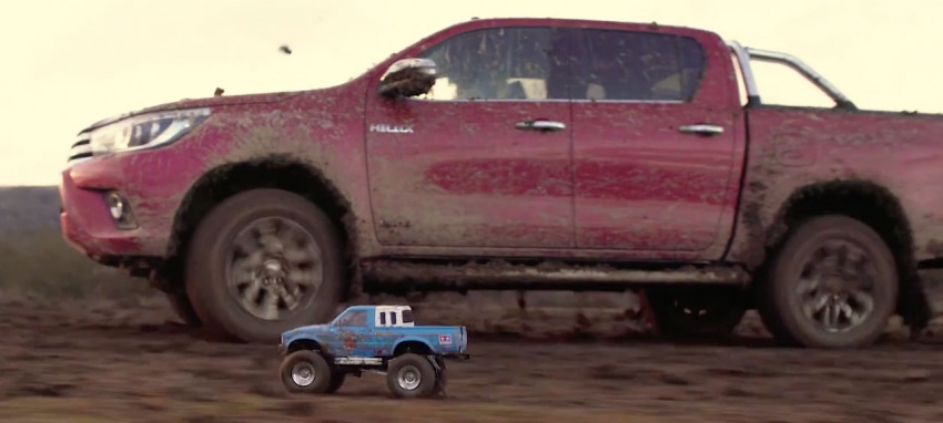 VIDEO: Toyota Hilux Tamiya models vs the real thing Image #632104