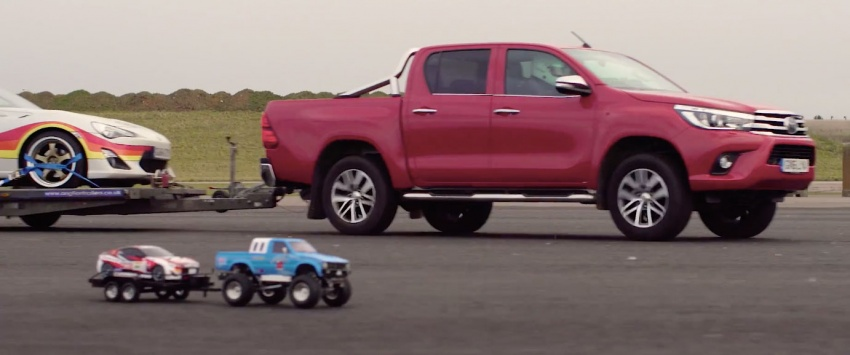 VIDEO: Toyota Hilux Tamiya models vs the real thing Image #632106