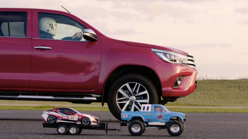 VIDEO: Toyota Hilux Tamiya models vs the real thing Image #632107