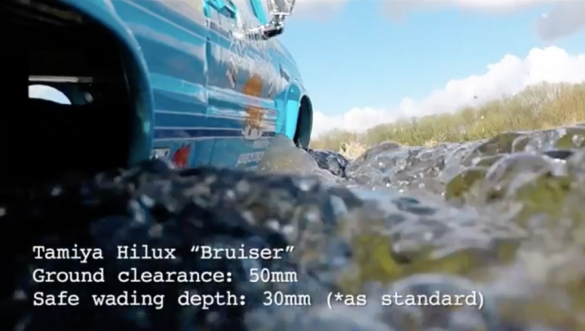 VIDEO: Toyota Hilux Tamiya models vs the real thing Image #632109