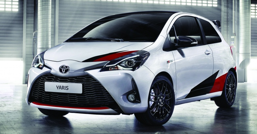 Toyota Yaris GRMN – supercharged hatch with 208 hp Image #626197