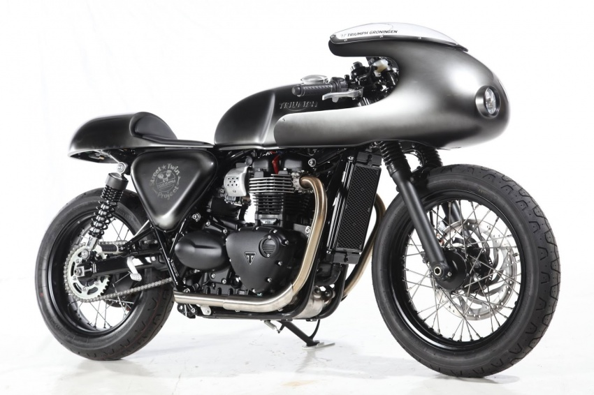 "Triumph Bonneville Street Twin – the ""Salt Flat Racer"" Image #630401"