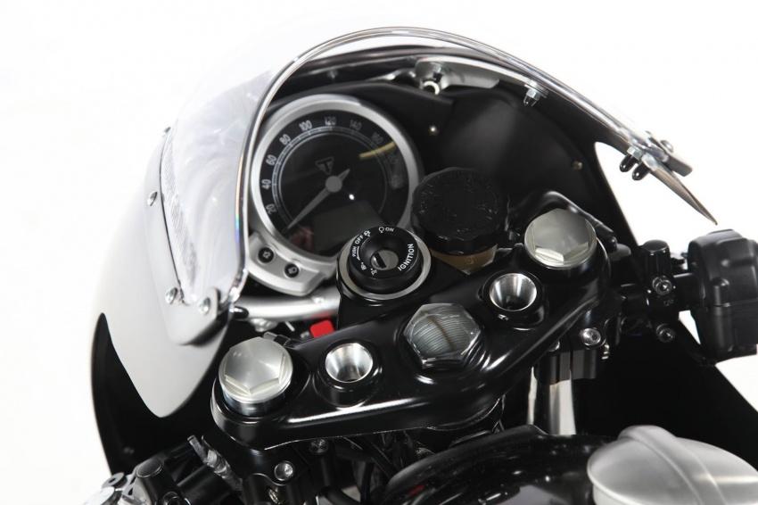 "Triumph Bonneville Street Twin – the ""Salt Flat Racer"" Image #630398"