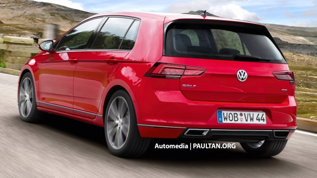 Vw Golf Viii >> RENDERED: Volkswagen Golf Mk8 set to receive evolutionary ...