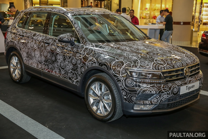 New Volkswagen Tiguan 1.4 TSI in Malaysia, fr RM149k Image #622422