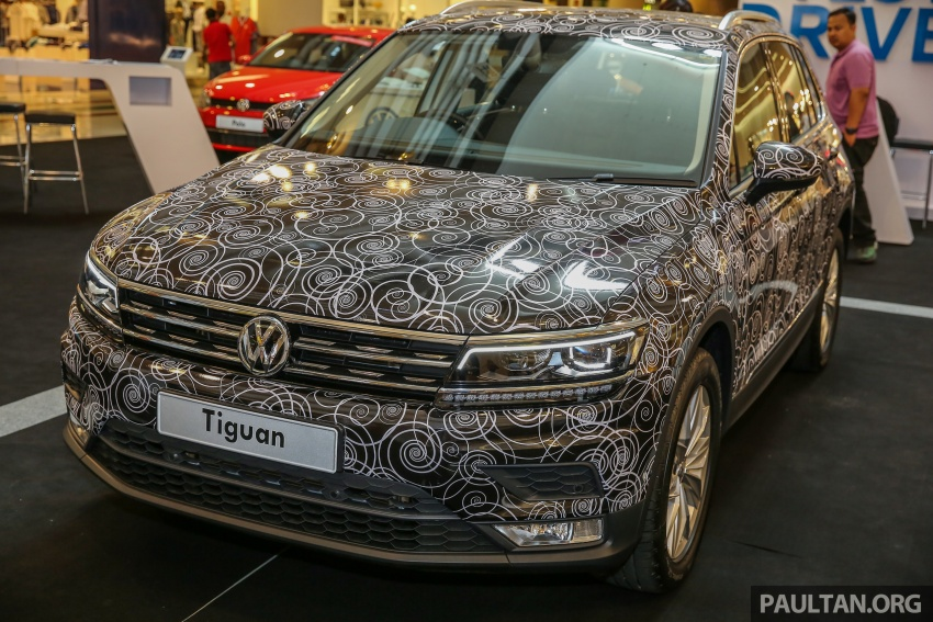 New Volkswagen Tiguan 1.4 TSI in Malaysia, fr RM149k Image #622425