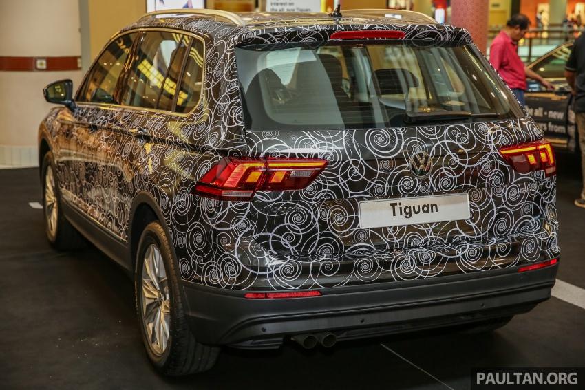 Volkswagen Tiguan diprebiu buat pertama kali di Malaysia – 1.4 liter TSI, DSG 6-kelajuan, dari RM149k Image #622189