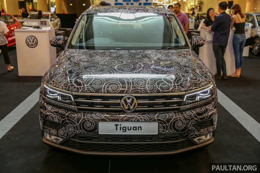 New Volkswagen Tiguan 1.4 TSI in Malaysia, fr RM149k Image #622433