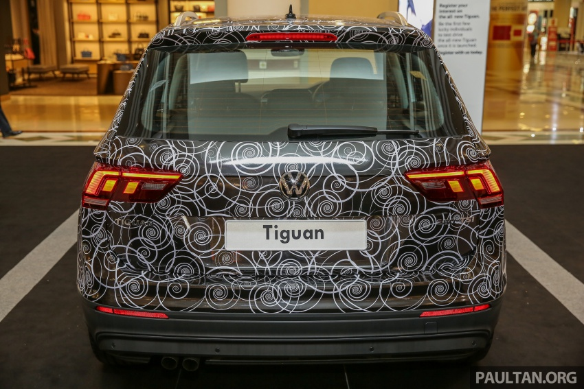 New Volkswagen Tiguan 1.4 TSI in Malaysia, fr RM149k Image #622435