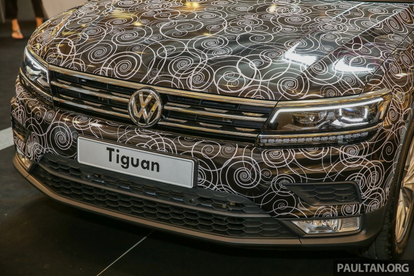 New Volkswagen Tiguan 1.4 TSI in Malaysia, fr RM149k Image #622438