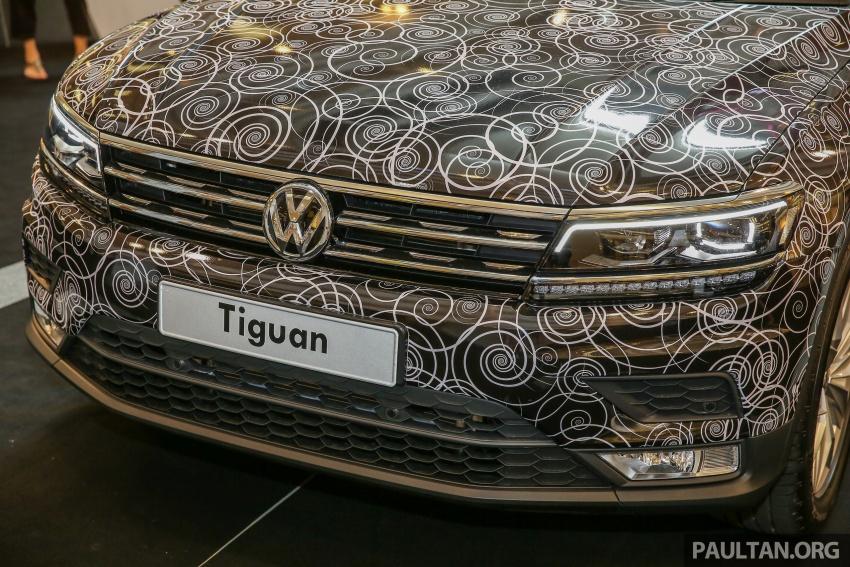 New Volkswagen Tiguan 1.4 TSI in Malaysia, fr RM149k Image #622438