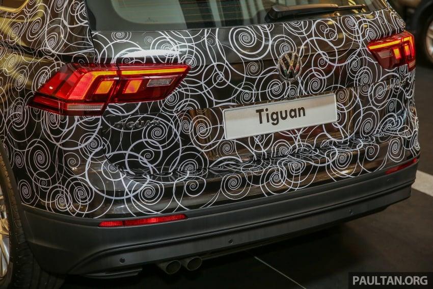 New Volkswagen Tiguan 1.4 TSI in Malaysia, fr RM149k Image #622439