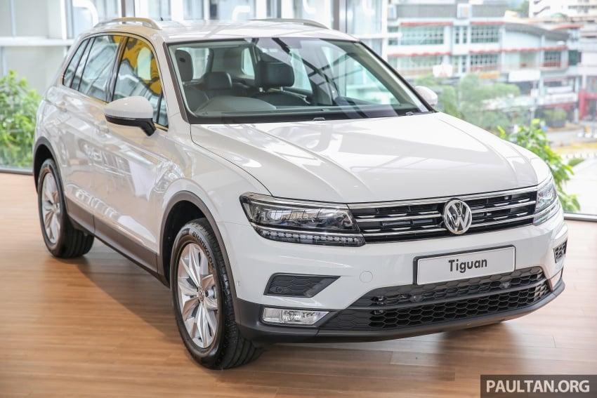 New Volkswagen Tiguan 1.4 TSI in Malaysia, fr RM149k Image #621932