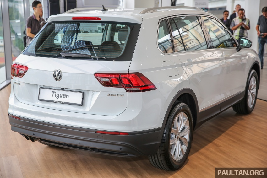New Volkswagen Tiguan 1.4 TSI in Malaysia, fr RM149k Image #621933