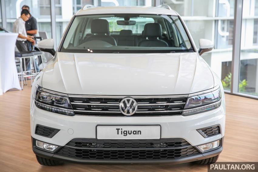 New Volkswagen Tiguan 1.4 TSI in Malaysia, fr RM149k Image #621934
