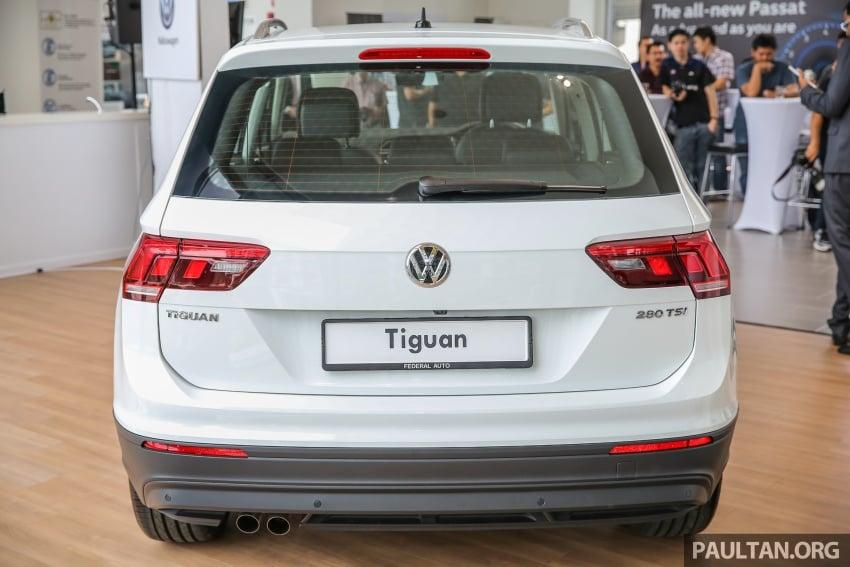 New Volkswagen Tiguan 1.4 TSI in Malaysia, fr RM149k Image #621935