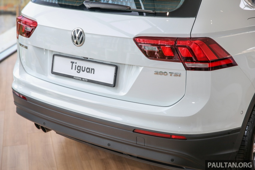 New Volkswagen Tiguan 1.4 TSI in Malaysia, fr RM149k Image #622039