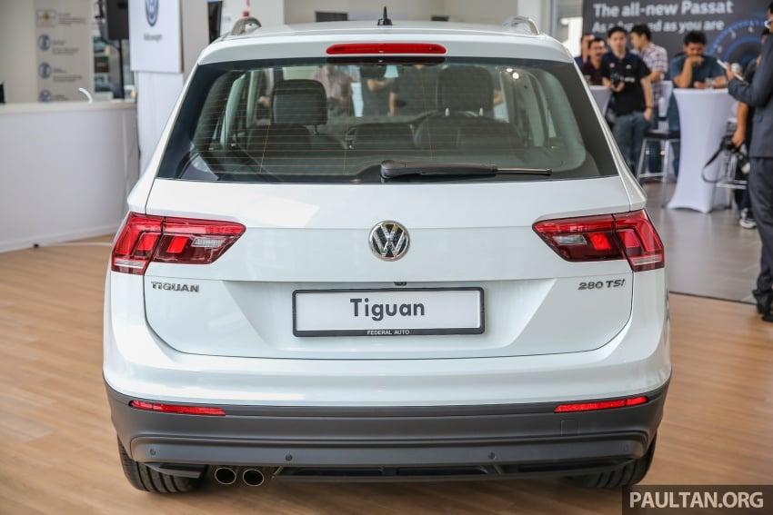 New Volkswagen Tiguan 1.4 TSI in Malaysia, fr RM149k Image #622016