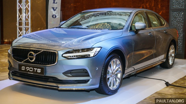 Volvo S90 V90 Launched In M Sia T5 And T6 R Design Semi