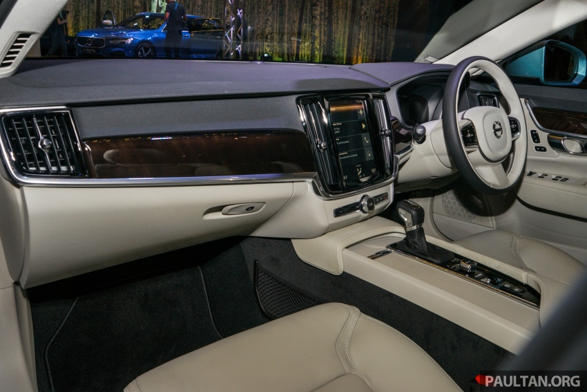 Volvo S90, V90 launched in M'sia: T5 and T6 R-Design, semi-autonomous driving as standard, from RM389k Image #634104