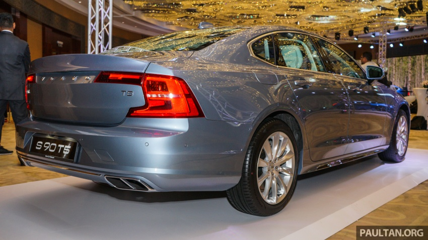 Volvo S90, V90 launched in M'sia: T5 and T6 R-Design, semi-autonomous driving as standard, from RM389k Image #634072