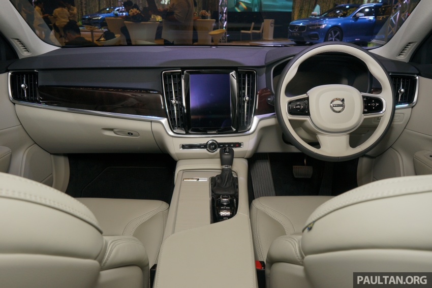 Volvo S90, V90 launched in M'sia: T5 and T6 R-Design, semi-autonomous driving as standard, from RM389k Image #634106