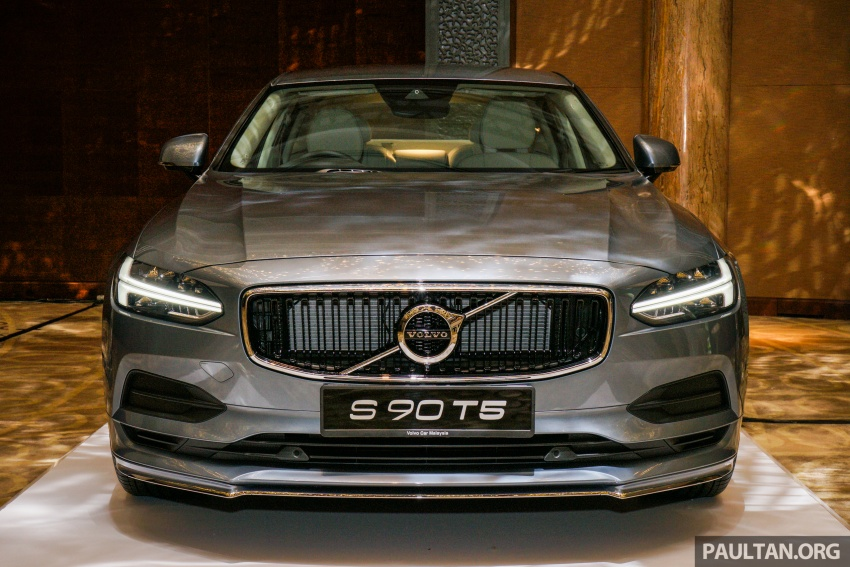 Volvo S90, V90 launched in M'sia: T5 and T6 R-Design, semi-autonomous driving as standard, from RM389k Image #634073