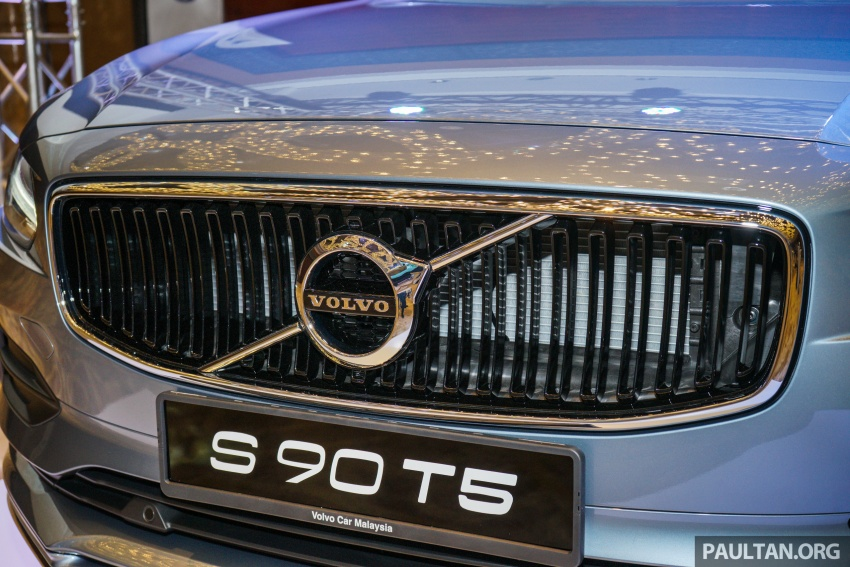 Volvo S90, V90 launched in M'sia: T5 and T6 R-Design, semi-autonomous driving as standard, from RM389k Image #634080