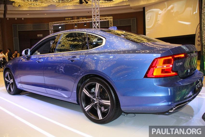 Volvo S90, V90 launched in M'sia: T5 and T6 R-Design, semi-autonomous driving as standard, from RM389k Image #634344