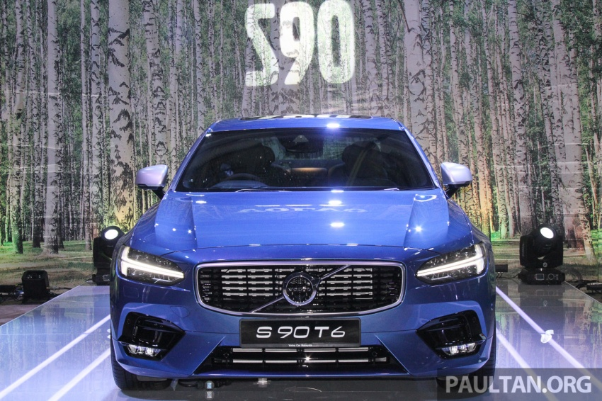 Volvo S90, V90 launched in M'sia: T5 and T6 R-Design, semi-autonomous driving as standard, from RM389k Image #634333