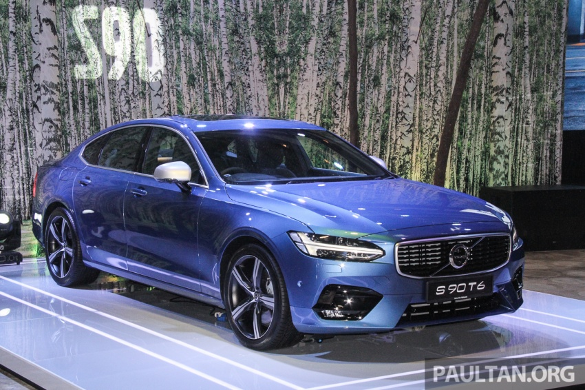Volvo S90, V90 launched in M'sia: T5 and T6 R-Design, semi-autonomous driving as standard, from RM389k Image #634334