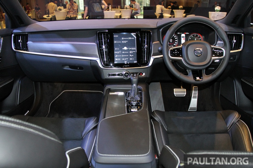 Volvo S90, V90 launched in M'sia: T5 and T6 R-Design, semi-autonomous driving as standard, from RM389k Image #634368