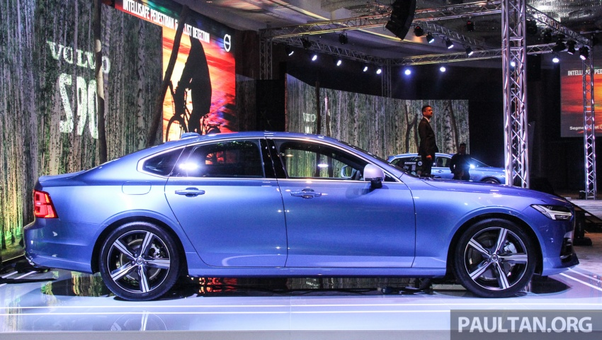 Volvo S90, V90 launched in M'sia: T5 and T6 R-Design, semi-autonomous driving as standard, from RM389k Image #634336
