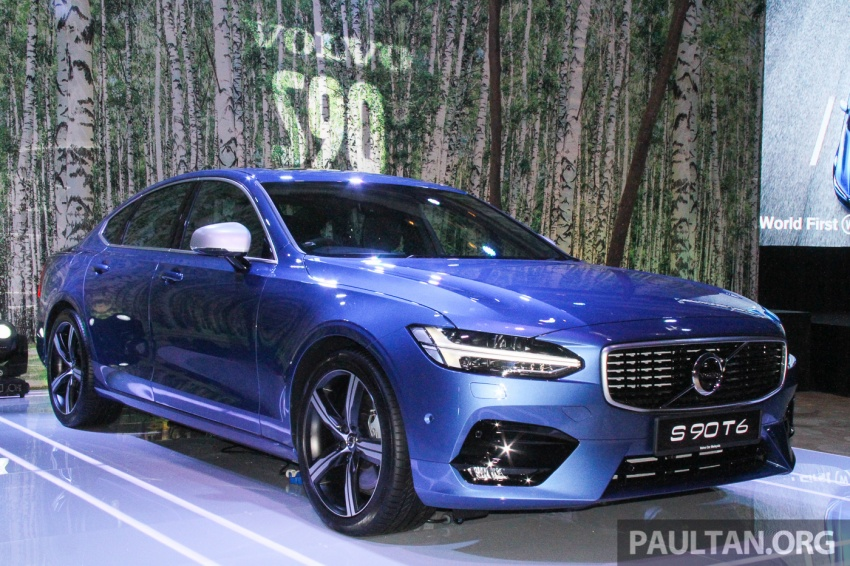 Volvo S90, V90 launched in M'sia: T5 and T6 R-Design, semi-autonomous driving as standard, from RM389k Image #634339