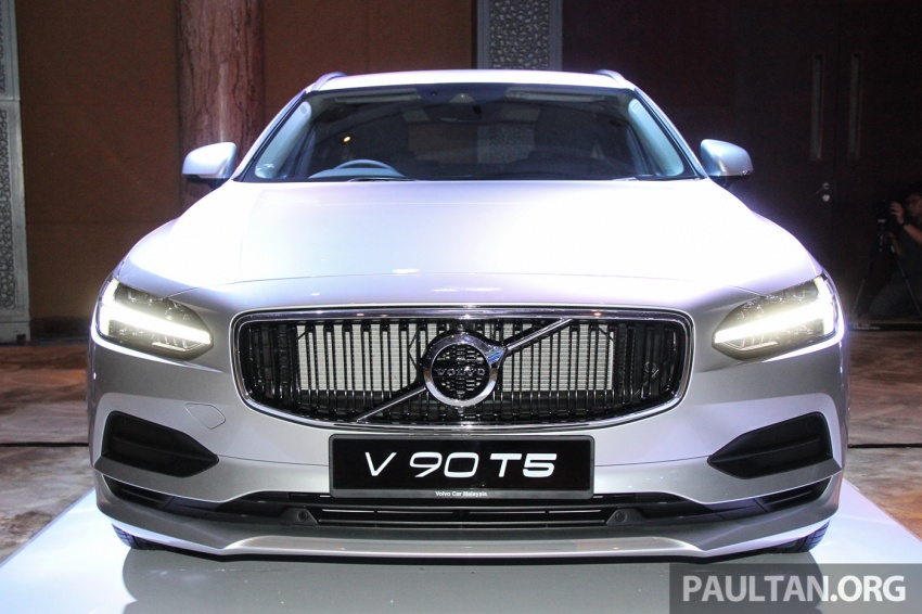 Volvo S90, V90 launched in M'sia: T5 and T6 R-Design, semi-autonomous driving as standard, from RM389k Image #634386